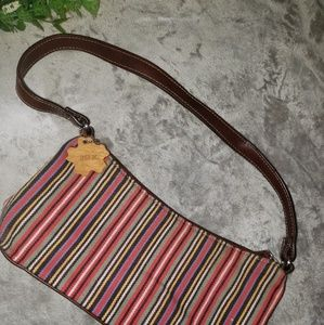 Relic striped smaller size handbag. One Size